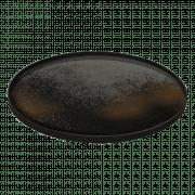 Heavy Aged Bronze Mirror Tray - Heavy Aged XL - ø 92 x 4 cm