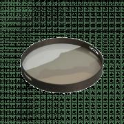 Sand Wabi Sabi Glass Tray -  ø  48 cm