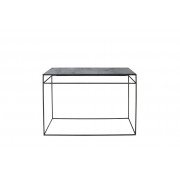 Console heavy aged mirror charcoal 122