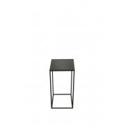 Charcoal Square Side Table Small - 30 x 30 x 60 cm