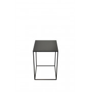 Charcoal Square Side Table Large - Mid - 40 x 40 x 60 cm