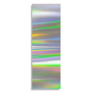 Transfer Foil Holographic Silver
