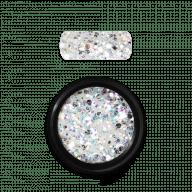 Holo Glitter Mix White