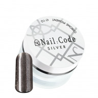 Chrome Powder Silver