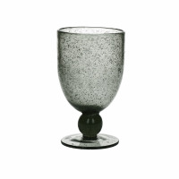 VICTOR - verre à vin - gris - verre - DIA 9 x H 15 cm