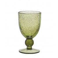 VICTOR Verre à vin - olive green H 15 x ø 9 cm - 330ml