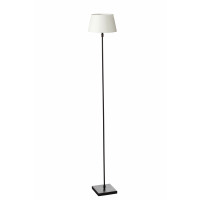 ESSENTIEL - Lampadaire orientable - métal / nickel - L 15 x W 15 x H 120 cm - nickel