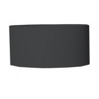CYL - lampshade - linen - DIA 45 x H 18 cm - black