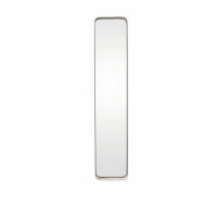 KELLY - Miroir rect.  - métal/miroir - blanc - MM - 76x16x5 cm