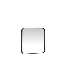 KELLY - Square mirror - metal/mirror - black structure  - M - 40x40x5 cm
