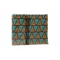 BOSSA - dble set triangle  - 100% jute - emeuraude - 40x140 cm