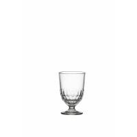 FACETTE - verre d'eau - verre - DIA 8,3 x H 12,6 cm