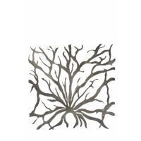 LAGON - set of 2 coral frame - metal - 52x52 cm