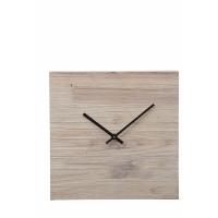 CITY -  klok - hout - 30x5x30 cm
