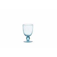 VICTOR - verre vind blanc - verre - DIA 9 x H 15 cm - bleu claire