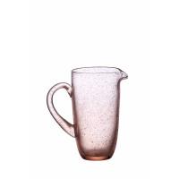 VICTOR - VICTOR - pichet - poudre - 1200 CL - verre - DIA 18 x H 20,5 cm - rose clair