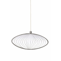 JEWELS - miroir ovale - métal - 66x6,5x113