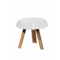 FRIDZ - sidetable - MDF/ wood - 55x55x52cm
