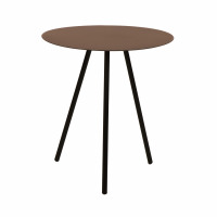 REBEL - side table - metal - L 45 x W 45 x H 50cm