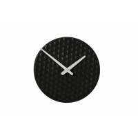 RIZÉ - klok - keramiek - zwart - 29x29x3,5cm