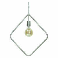 ASTI - Hanglamp - metaal - tin - 60x5x41 cm