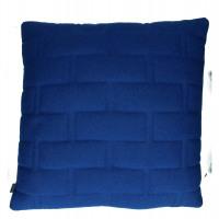 SHINJUKU - cushion - 65% wool/35% div - dark blue - 60x60cm