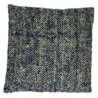BADABOUM - cushion - cotton - L 45 x W 45 cm - blue