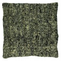 BADABOUM - cushion - cotton - L 45 x W 45 cm - black