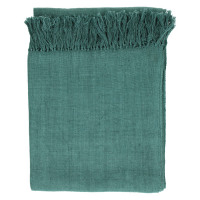 RHAPSODY - throw - cotton - L 130 x W 170 cm - olive