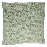 GABY - cushion - cotton - L 45 x W 45 cm - grey