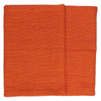 SIMPLICITY - double set table - 100% coton - orange - 40x140 cm