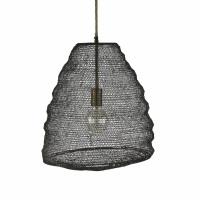 LOOP - hanging lamp - metal - DIA 43 x H 45 cm - brass