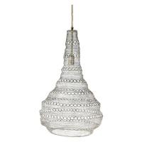 LOLO - hanging lamp - metal - L 30 x W 30 x H 78 cm - brass
