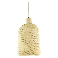 SEIYO - hanging lamp - bamboo/ wood - natural - L - DIA 19 x H 27cm
