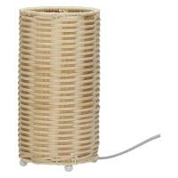 SABAE - lamp - rattan - nautral/ black - DIA 12 x H 24cm