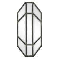 JAY - spiegel - metaal - tin - S - 19x41,5 cm
