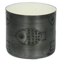 TIGELA - bol - métal/émail - blanc - poisson - S - Ø8xh7,5cm
