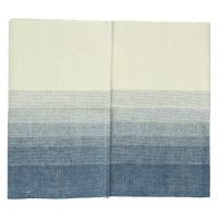BARCAGGIO - table runner - cotton - indigo/natural - 40x140 cm