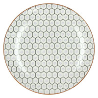KASHGAR - dessert plate  - porcelain - lavender - D21,5