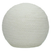 BE WARM - lighting knitting ball  - kunststof - DIA 12 x H 12 cm