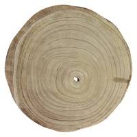 PURE - assiette - paulownia hout - DIA 35 x H 3,5 cm