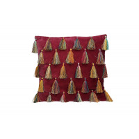 CIRQUE - deco cushion - velvet 100% cotton - pink - 45x45 cm