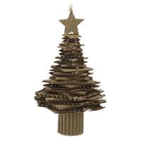 BIDULE - kerstboom - papier - DIA 10 x H 23 cm