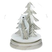 BOBBY - kersthanger - glas - DIA 15 x H 17 cm