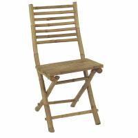 CÂY TRE - chaise - bambou - L 45 x W 55 x H 95 cm