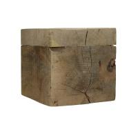 BLOXX - blok - mango hout - L 25 x W 25 x H 25 cm