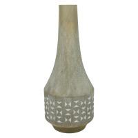 SUNA-Vase-Enameled sandstone- dia 17 x 41.5 cm