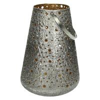 SHINY - lanterne - métal - DIA 24 x H 32 cm