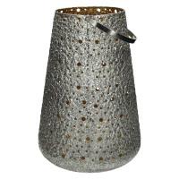 SHINY - lanterne - métal - DIA 29 x H 41 cm