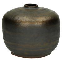 NIKAIA-Vase-Céramique-Bronze-S-dia 10.5 x 10.5 cm